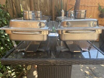 £70 • Buy Bain Marie With Chafing Fuel 6hrs