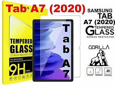 £3.54 • Buy Tempered Glass Screen Protector Fits Samsung Galaxy Tab A7 10.4 T500/T505 2020