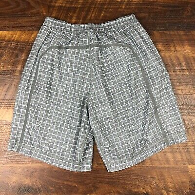 $ CDN42.50 • Buy Lululemon Pace Breakers 9  Gray Blue Lined S Running Workout Active Men's Shorts