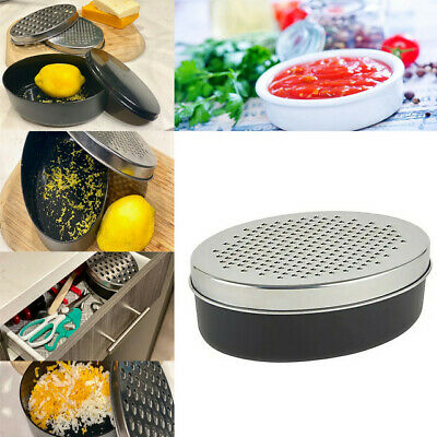 £6.99 • Buy Handy Kitchen Cheese Grater With Container Cheese Box Graters, Slicers & Chopper