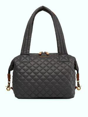 $179.99 • Buy MZ Wallace Sutton Deluxe Tote Gray Gold