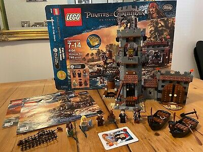 £90 • Buy LEGO 4194 Pirates Of The Caribbean Whitecap Bay 100% COMPLETE Boxed + Inst. RARE