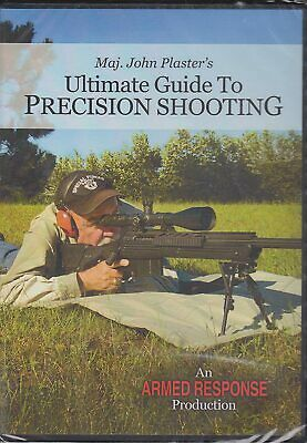 £14.15 • Buy Ultimate Guide To Precision Shooting By Maj. John Plaster's(dvd) Sealed