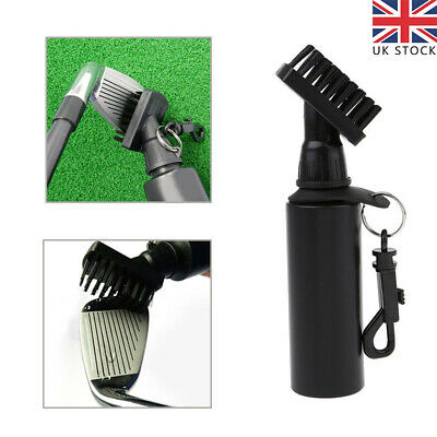 £7.30 • Buy Golf Club Brush Cleaner Scrub Cleaning Tool With Refillable Water Bottle UK