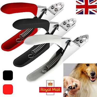 £3.49 • Buy Pet Dog Cat Nail Toe Claw Clippers Scissor Trimmer Shear Cutter Grooming Tool UK