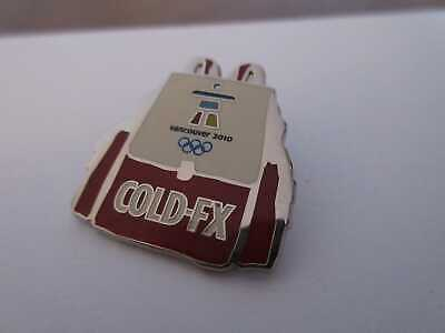 £3.86 • Buy Pin Olympia Vancouver 2010 Cold-FX Sponsor Rucksack Winter OLYMPICS
