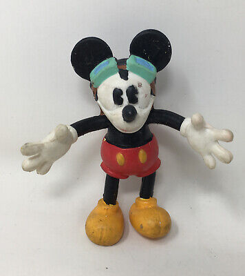 £7.90 • Buy Mickey's Stuff For Kids Bend-Ems Mail Pilot MICKEY Figure Just Toys