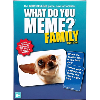 AU38.99 • Buy What Do You Meme? Family Edition Brand New