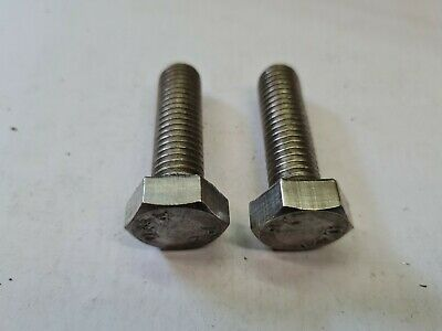 $2.77 • Buy 2 X M12 By 40mm -  A4-80 STAINLESS STEEL HEX HEAD BOLTS - FREE UK P&P