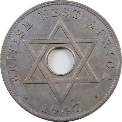 £0.88 • Buy British West Africa - Penny - 1947 Kn - George Vi