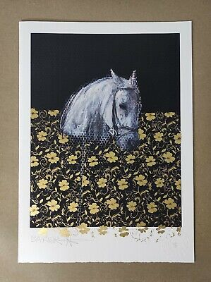 £475 • Buy Charming Baker - It Is My Heartfelt.. Ltd. Ed. Card With 24ct Gold Leaf, Signed