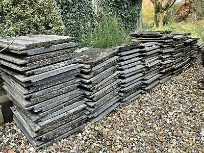 £1.50 • Buy Redland Stonewold Roof Tiles - Grey Concrete Reclaimed/used