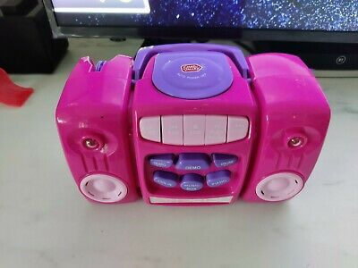 £3.50 • Buy Chad Valley Pink And Purple Kids My First CD Player