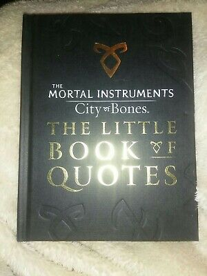 £1.49 • Buy The Mortal Instruments 1: City Of Bones The Little Book Of Quotes (Movie Tie-in)