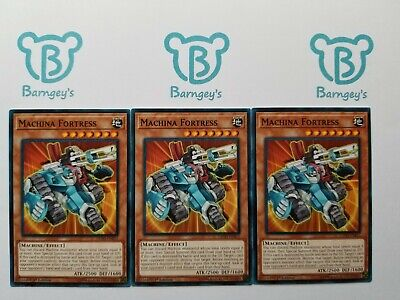 $2.40 • Buy 3 Machina Fortress,PLAYSET,Common,Various Sets,NM,1st Edition,Yugioh,Barngey's