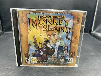 £7.05 • Buy Pc Cd-rom Game Escape From Monkey Island 2 Disc