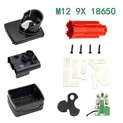 $ CDN18.57 • Buy 15pcs M12 Li-ion Battery Plastic Case Box Parts Replacement For Milwaukee  Top