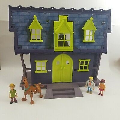 £43.62 • Buy Scooby Doo Mystery Mates Haunted Mansion Playset W/ Scooby Shaggy Velma & Fred