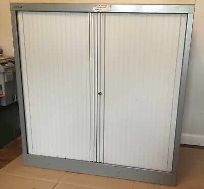 £40 • Buy Bisley Tambour Office Cupboard Pre Owned Good Condition