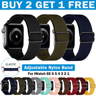AU7.55 • Buy For Apple Watch Band Series SE 6 5 4 3 2 1 Nylon  IWatch Strap 44 42 40 38 Mm