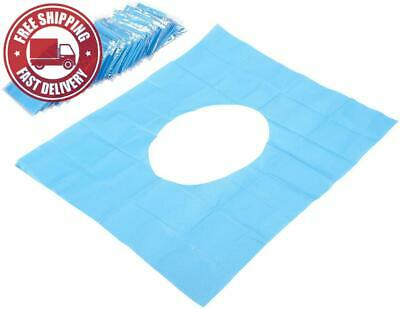 £10.61 • Buy 50 Count Disposable Toilet Seat Covers - Waterproof Paper Toilet Covers - Dispos
