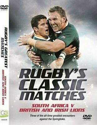 £2.99 • Buy Rugby's Classic Matches: South Africa V British & Irish Lions DVD Rugby