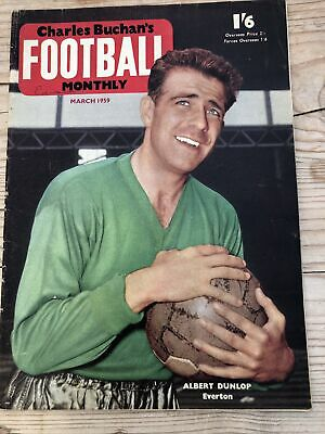 £3 • Buy Charles Buchan`s Football Monthly - March 1959