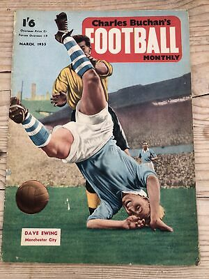 £3 • Buy Charles Buchan`s Football Monthly - March 1955