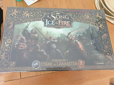 £95 • Buy A Song Of Ice And Fire Miniatures Game - Stark Vs Lannister