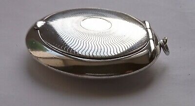 £79.99 • Buy Antique Art Deco Solid Silver Chatelaine Compact.