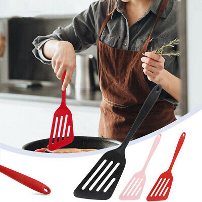 AU11.69 • Buy Silicone Cooking Turner Slotted Spatula Cooking Utensil Non Stick Kitchen Tools