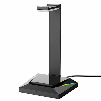 AU25.49 • Buy Gaming Headset Stand RGB USB Headphones Display Holder For Gamer Gaming PC