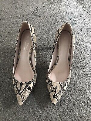 £12 • Buy Lovely Animal Print Ladies Next Shoes Size 7 Wide Fit Bought For £35