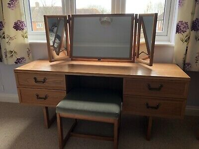 £30 • Buy Retro G Plan - E Gomme Dressing Table And Stool