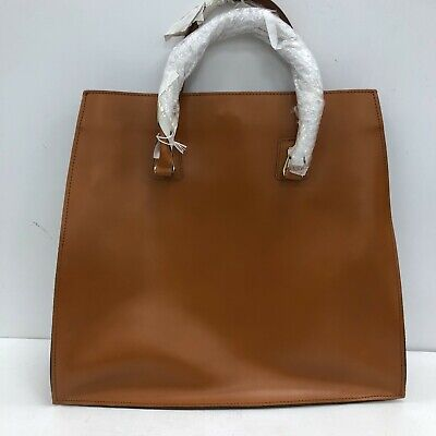 £11.30 • Buy New River Island Tote Bag 38cm X 48cm X 12cm Large Brown Leather Casual 111020