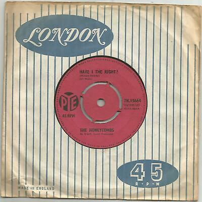 £8.60 • Buy 1964 The Honeycombs Have I The Right/please Don't Pretend Again Record