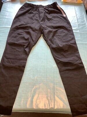 £2.10 • Buy Mens Professional Chefs Trousers Size M Black Chefs Clothing Good Condition