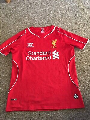 £10 • Buy Liverpool FC Shirt Home Red Warrior Collectable Jersey