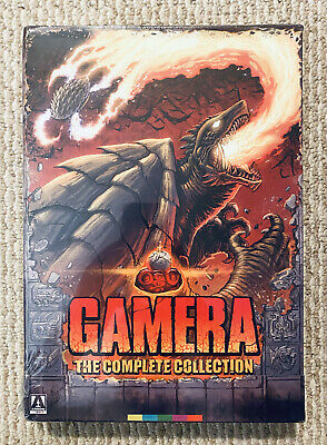 £102.46 • Buy GAMERA The Complete Collection Arrow Video Blu Ray 8 Disc Box Set RegionA SEALED