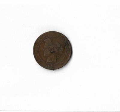 £9.99 • Buy 1893 FRANCE - 10 Centimes.