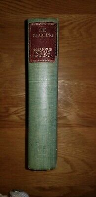 £0.99 • Buy The Yearling By Marjorie Kinnan Rawlings Published 1940 The Reprint Society