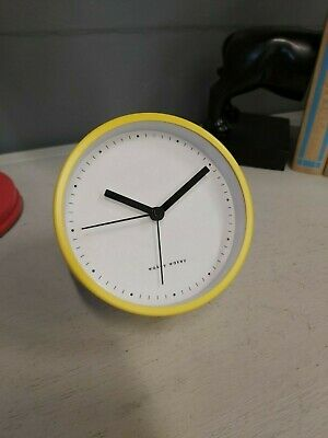 £4.99 • Buy Eve 'The Alarm Clock' In Original Box Alarm Clock With Stand Yellow Brand New