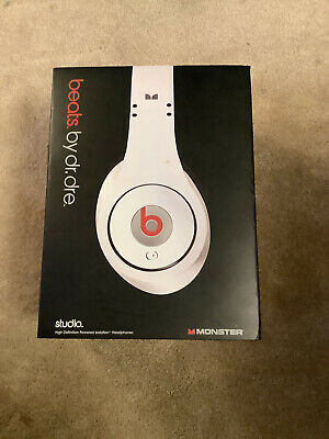 £31 • Buy Monster Studio Beats By Dr. Dre Wired Headphones No Reserve