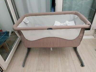 £59.80 • Buy Next2me Crib Chicco Baby Co Sleeping Cot Bedside Next To Me