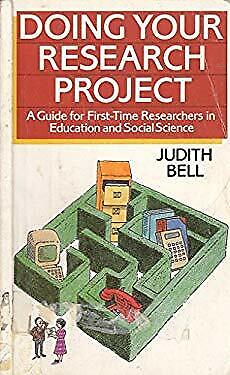 £5.48 • Buy Doing Your Research Project : A Guide For First-Time Researchers
