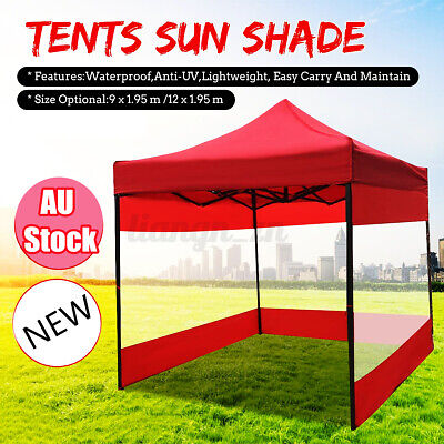 AU30.44 • Buy Outdoor Canopy Tent Cover Side Wall Sun Shade Shelter Gazebo Marquee Polyester