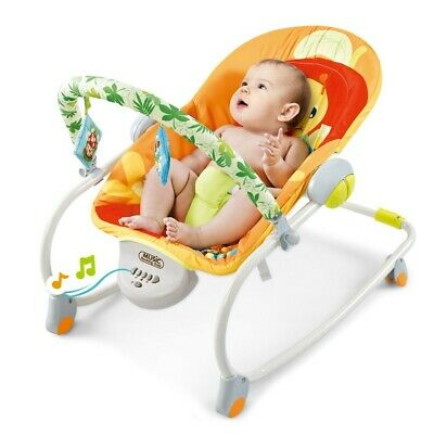 £38.99 • Buy Baby Bouncer Swing Chair Cradle Rocker Seat Bouncy Rocking With Music And Toys
