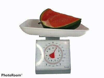 £8.95 • Buy Vintage Hanson Kitchen Scales In Grey White  Plastic Colour Works Well