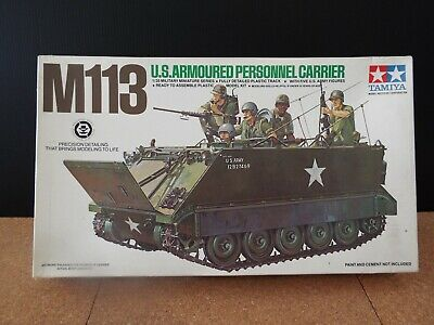 $19.99 • Buy Tamiya 1:35 M113 U.s. Armoured Personnel Carrier  Plastic Model Kit Mm-140a