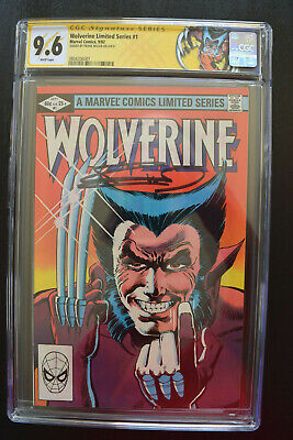 £566.38 • Buy WOLVERINE #1 CGC SS 9.6 FRANK MILLER Signed NM SPECIAL LABEL 1982 LIMITED SERIES